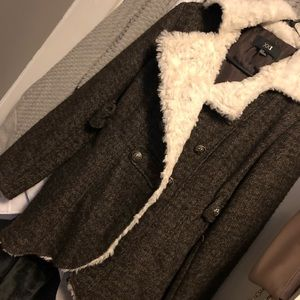 F21 winter jacket